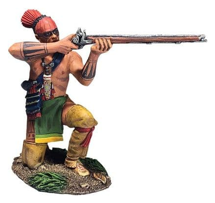 WB16064 Native Warrior Kneeling Firing No.2